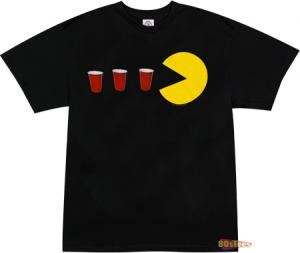 Pac Man Red Solo Cup T-Shirt