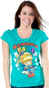Rainbow Brite In Thought T-Shirt
