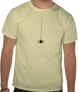 Hanging Spider t-shirt