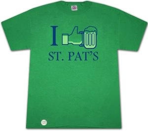 I Like St. Patricks Day T-Shirt