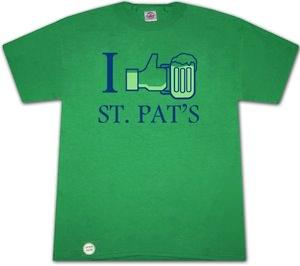 I Like St. Patricks Day T-Shirt