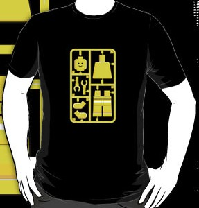 Lego minifigure t-shirt