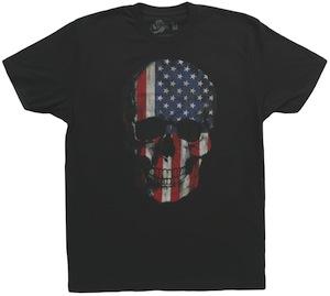 Flag Skull T-Shirt