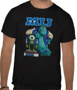 Mike And Sulley Monsters University T-Shirt