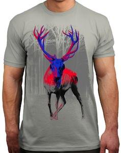 Zombie deer t-shirt