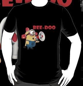 Despicable Me 2 Minion Alarm T-Shirt