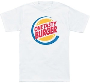 One Tasty Burger T-Shirt