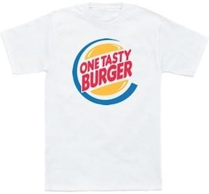 One Tasty Burger T-Shirt