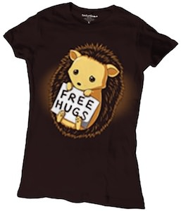 Hedgehog Free Hugs T-Shirt