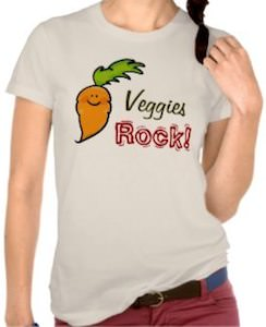 Veggies Rock Carrot T-Shirt
