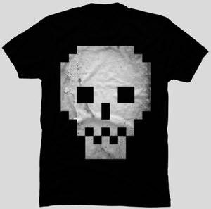 Dead Pixel Skull T-Shirt