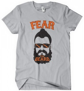 Fear The Beard Brian Wilson Edition T-Shirt