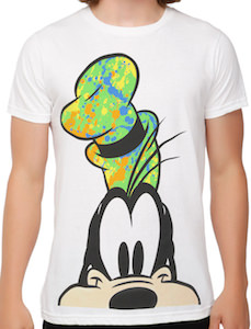 Disney Goofy portrait t-shirt