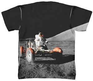 Appolo 17 moon rover t-shirt