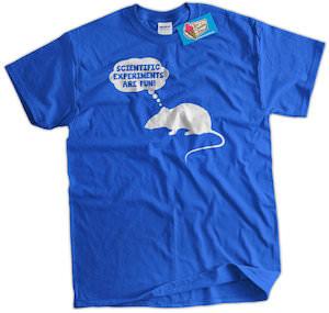 Science Rat T-Shirt