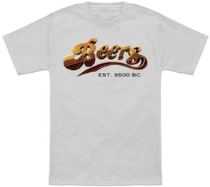 Beers Logo T-Shirt like the one from Cheers