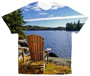 View Of The Lake T-Shirt