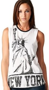 New York Statue Of Liberty Tank Top