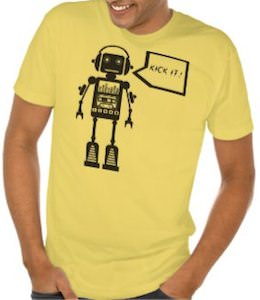Robot Kick It! T-Shirt