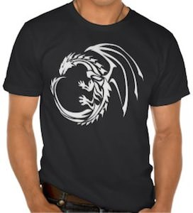Tribal Dragon Tattoo T-Shirt