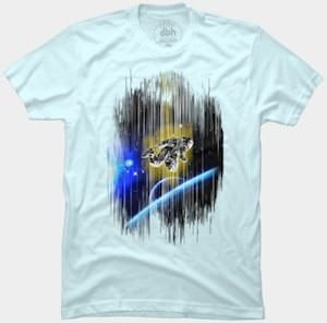 Astronaut Space Warp T-Shirt