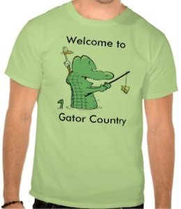 Welcome To Gator Country T-Shirt