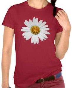 Peace Flower Power T-Shirt