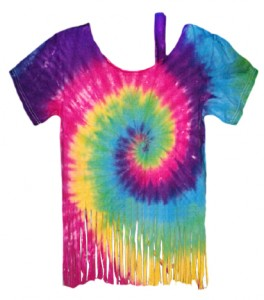 Circle Rainbow Tassels T-Shirt