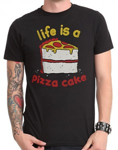 Life Is A Pizza Cake