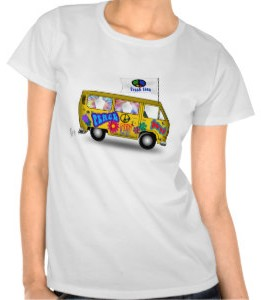 Magic Hippie Van T-Shirt