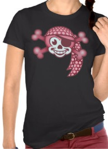 Pink Monkey Pirate T-Shirt