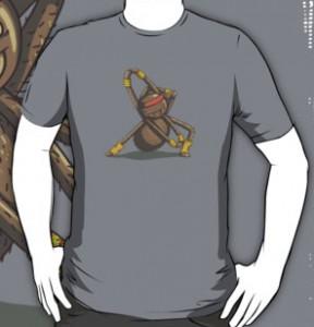 Stretching Spider T-Shirt