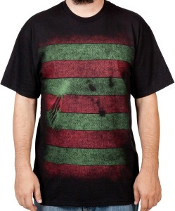 Freddy Krueger Hidden Mask T-Shirt