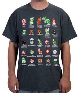Super Mario Bros Cast T-Shirt