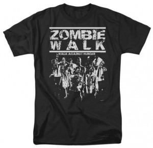 Zombie Walk Against Hunger T-Shirt