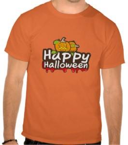 Bloody Happy Halloween T-Shirt