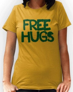 Free Hugs For Everyone T-Shirt