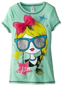 Girl's Sunglasses Glam T-Shirt