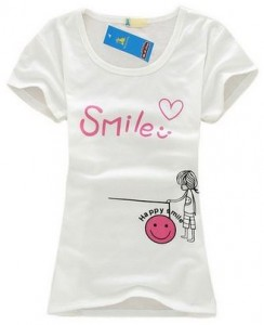 Little Girl Happy Smile T-Shirt