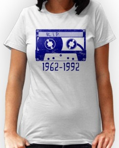 No More Cassette Tape T-Shirt