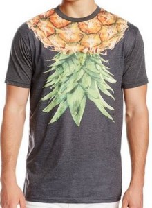 Pineapple Around The Neck T-Shirt