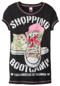 Shopping Bootcamp Girl's T-Shirt