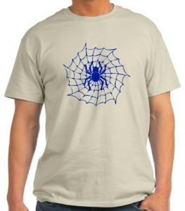 Spider With His Web T-Shirt