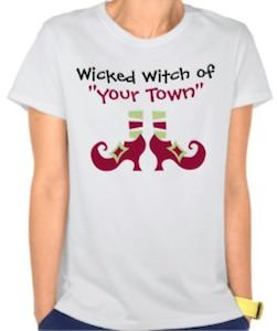 Personalized Wicked Witch T-Shirt