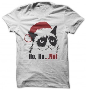Grumpy Cat Ho Ho No T-Shirt