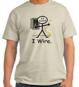 I Wire Electrician T-Shirt