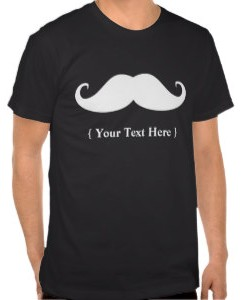 Personalized Moustache T-Shirt