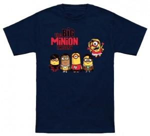 The Big Bang Minion Theory T-Shirt