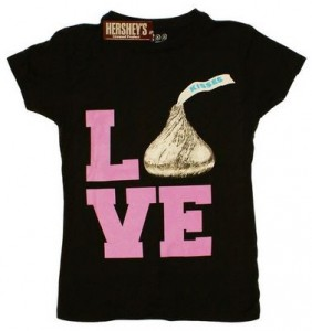 Love Hershey Kisses T-Shirt