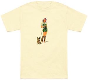 Morning Walk The Dog T-Shirt